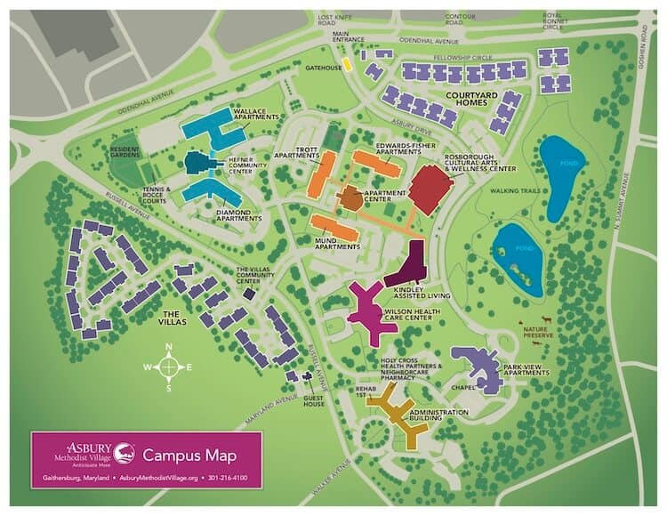 AMV Campus Map