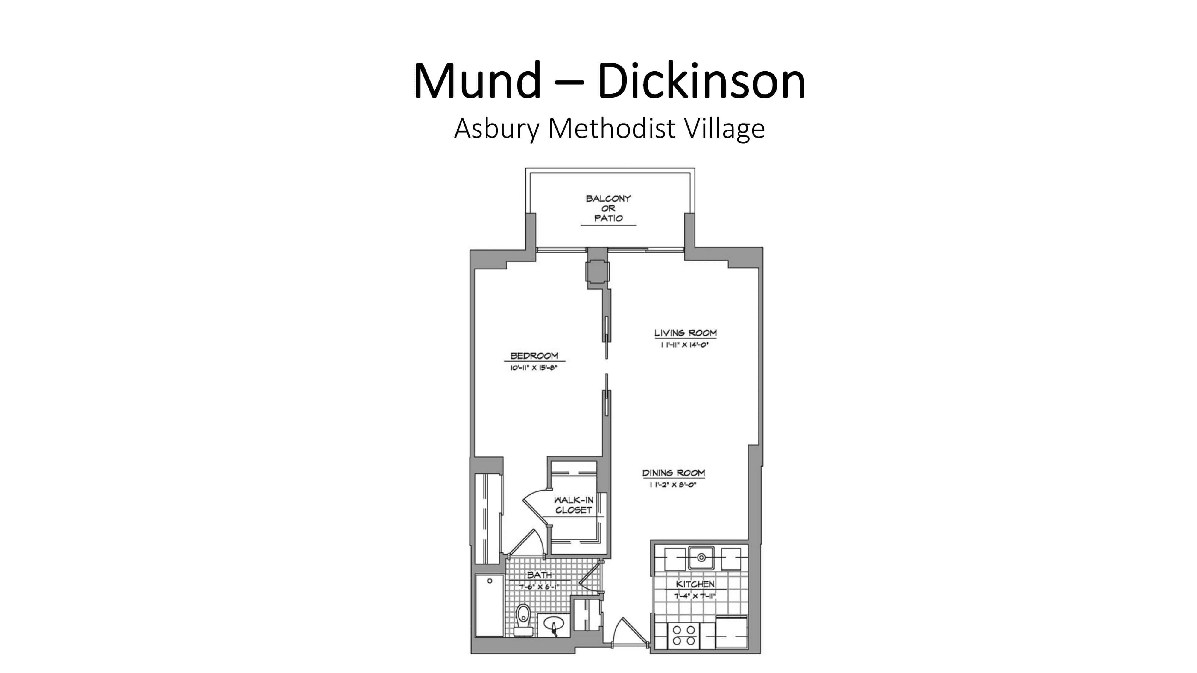 AMV Mund - Dickinson