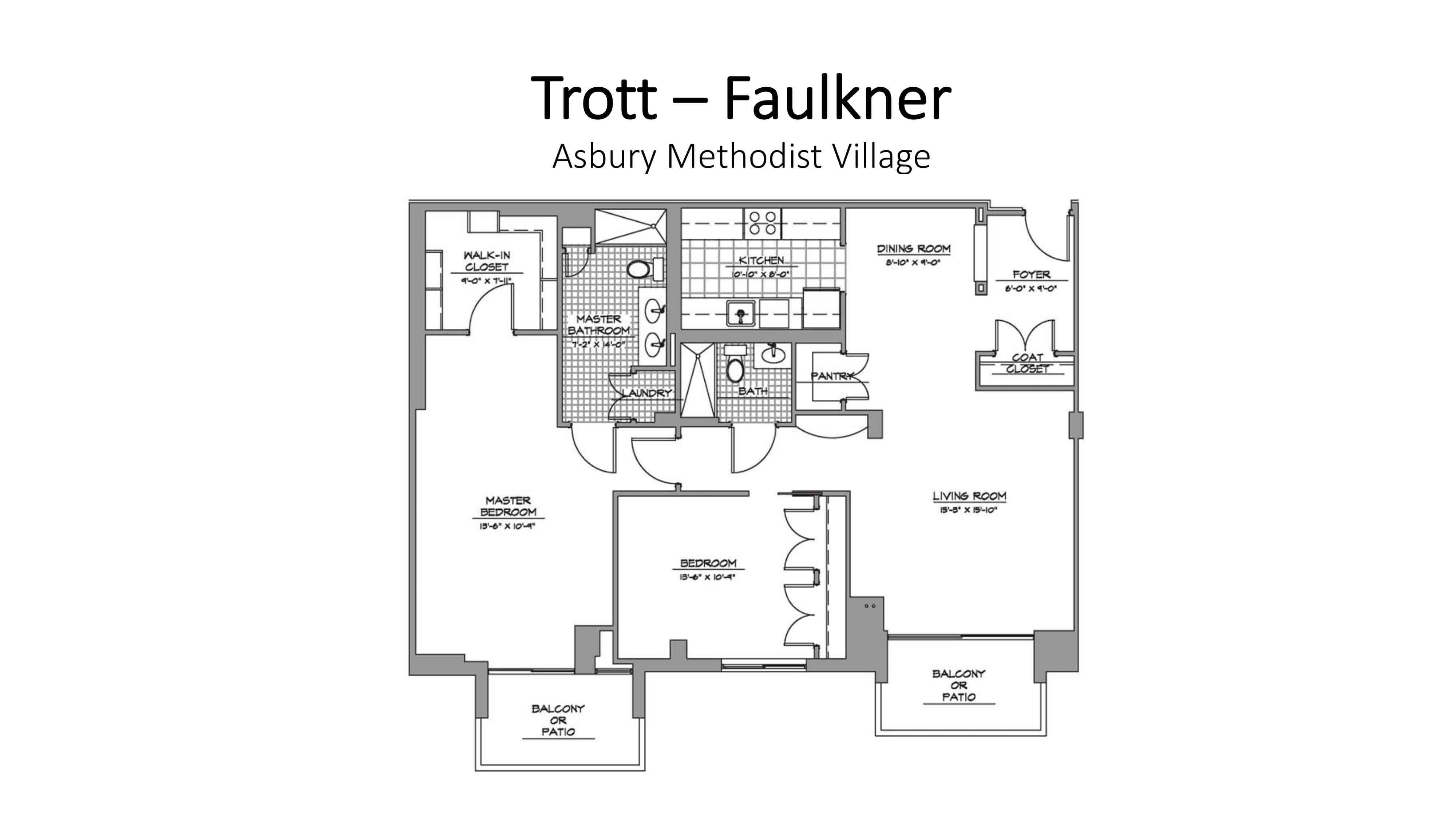 AMV Trott Faulkner