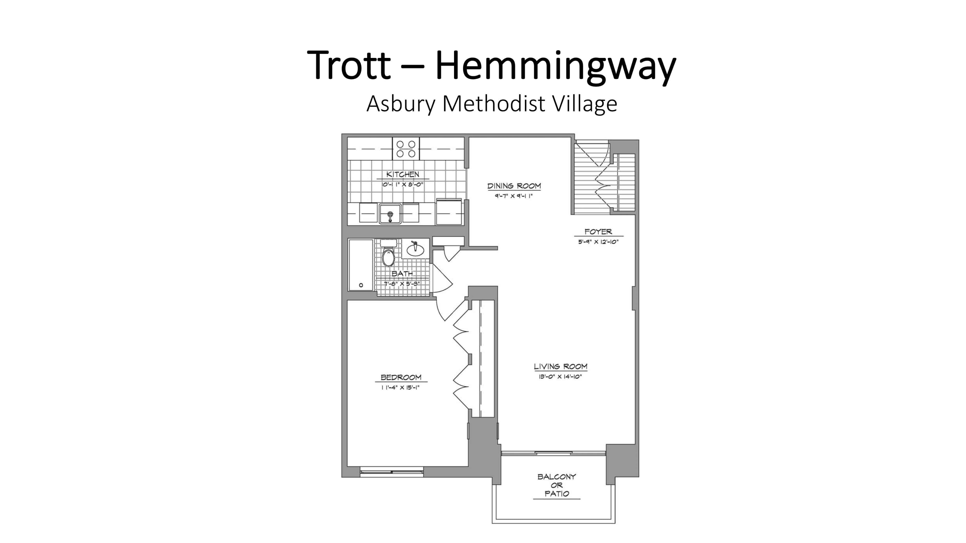 AMV Trott Hemmingway