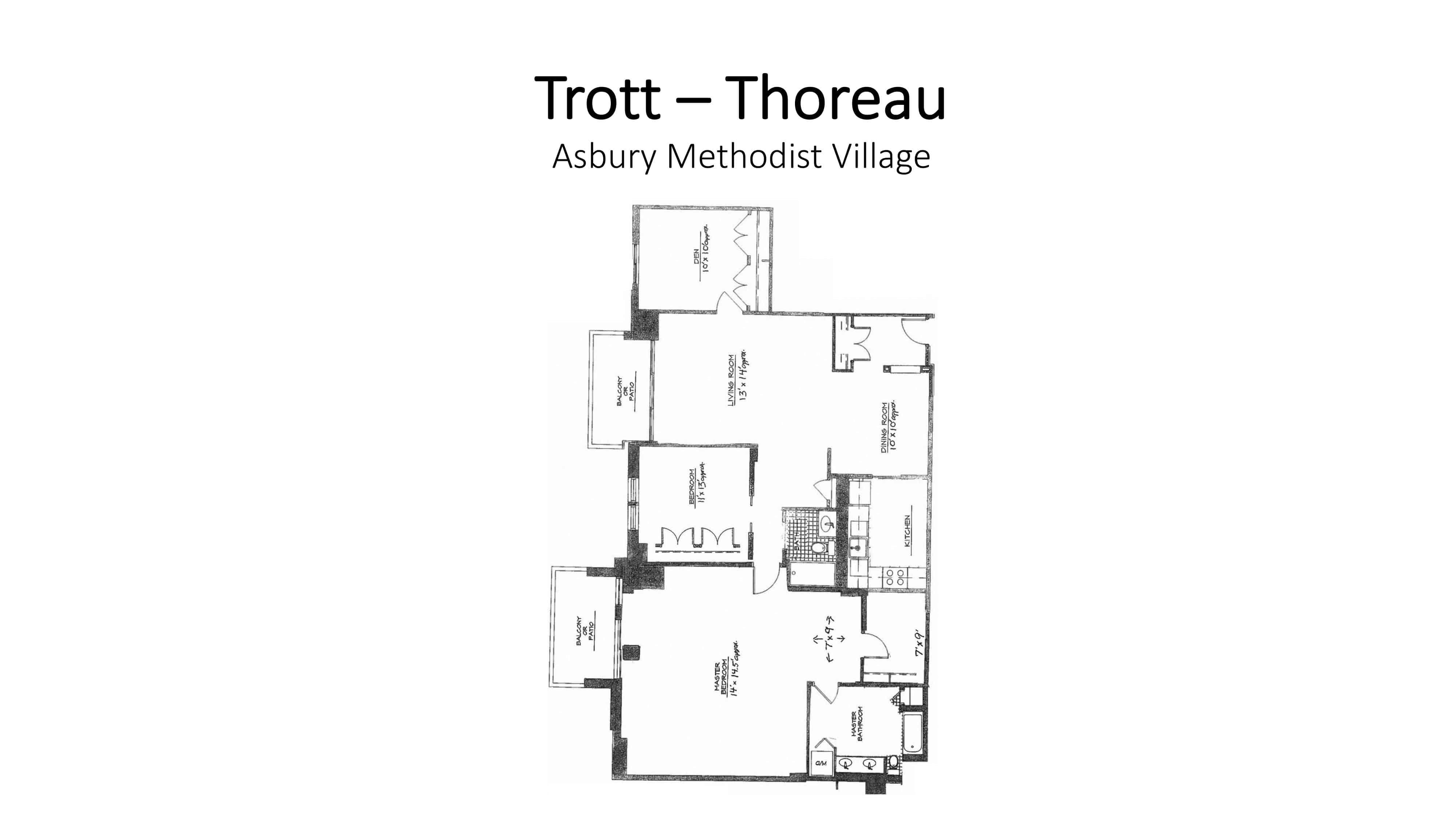 AMV Trott Thoreau