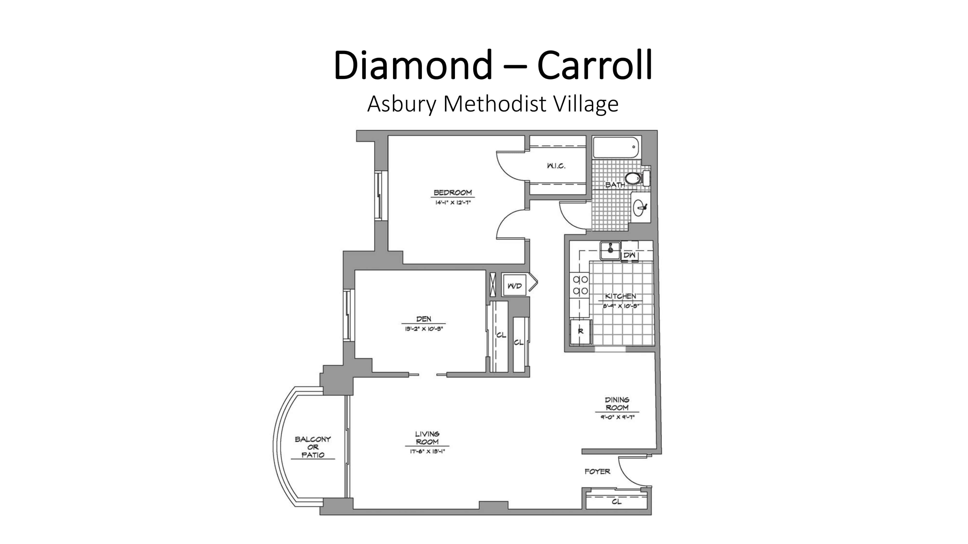 Asbury Methodist Village Diamond - Carroll