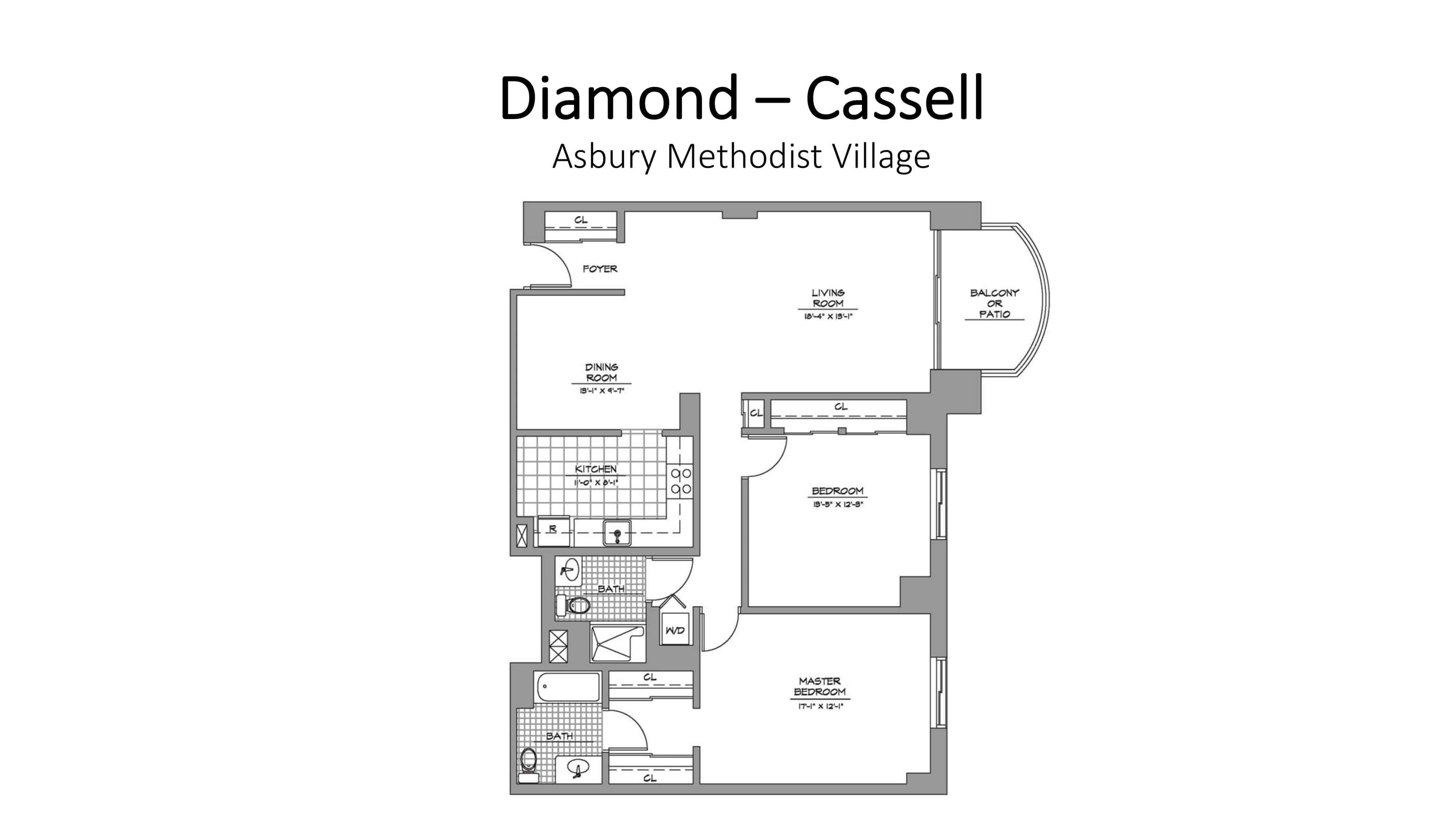 Asbury Methodist Village Diamond - Cassell