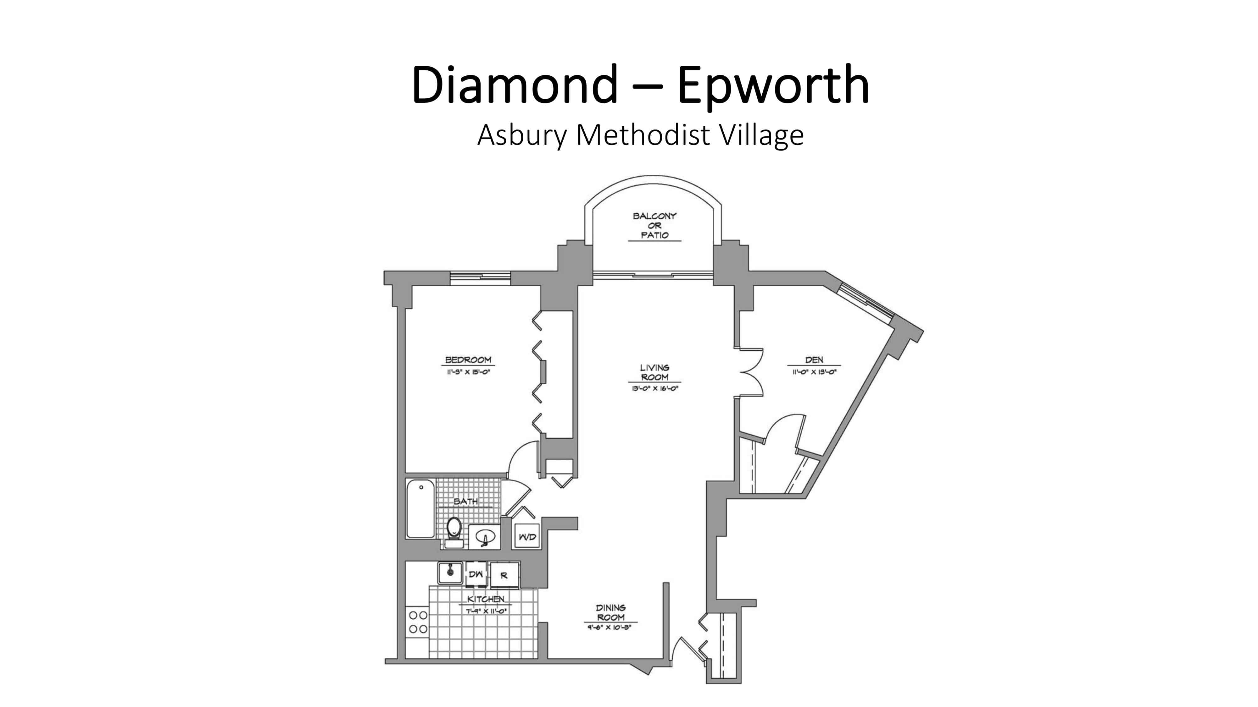 Asbury Methodist Village Diamond - Epworth
