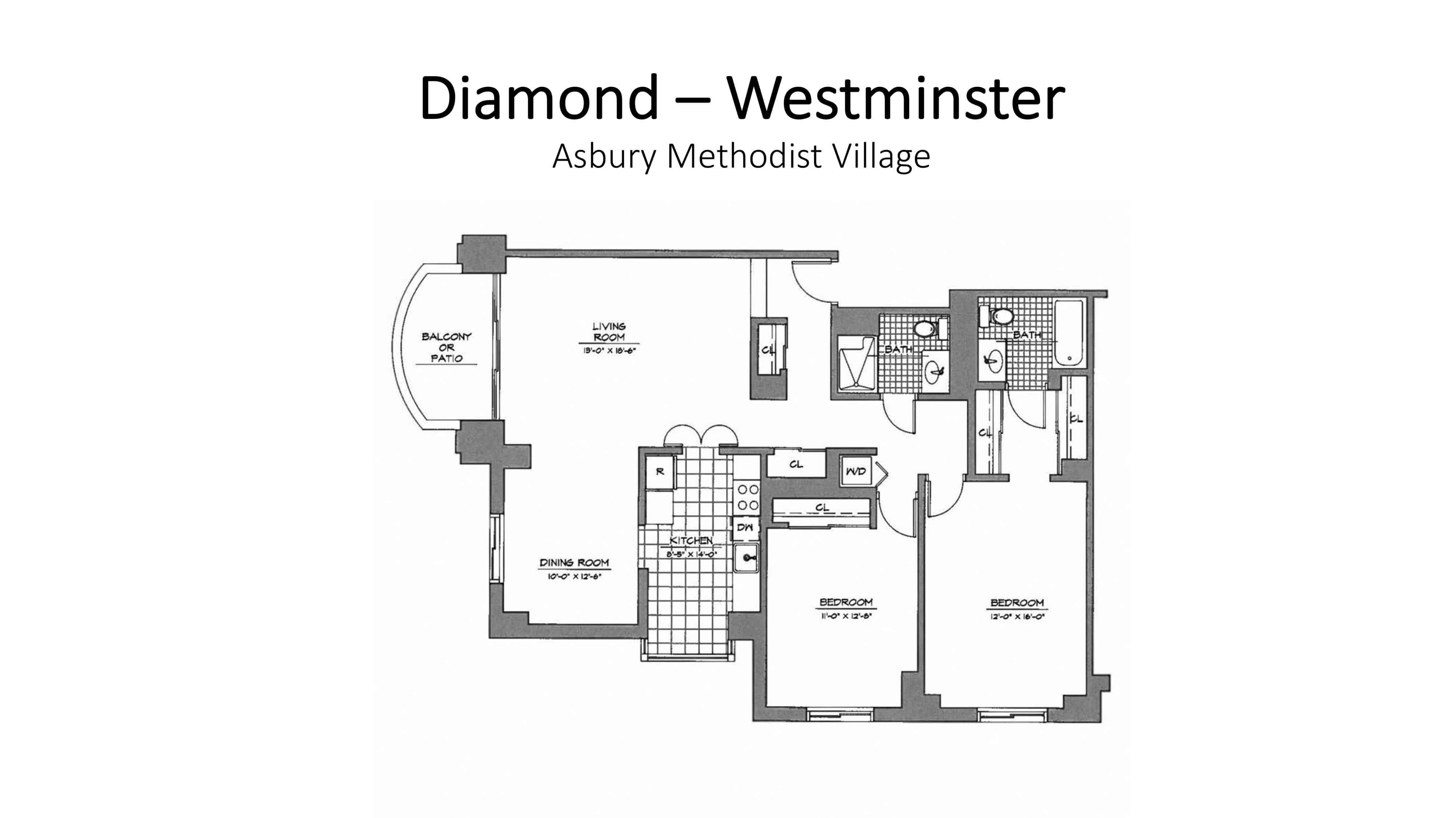 Asbury Methodist Village Diamond - Westminster