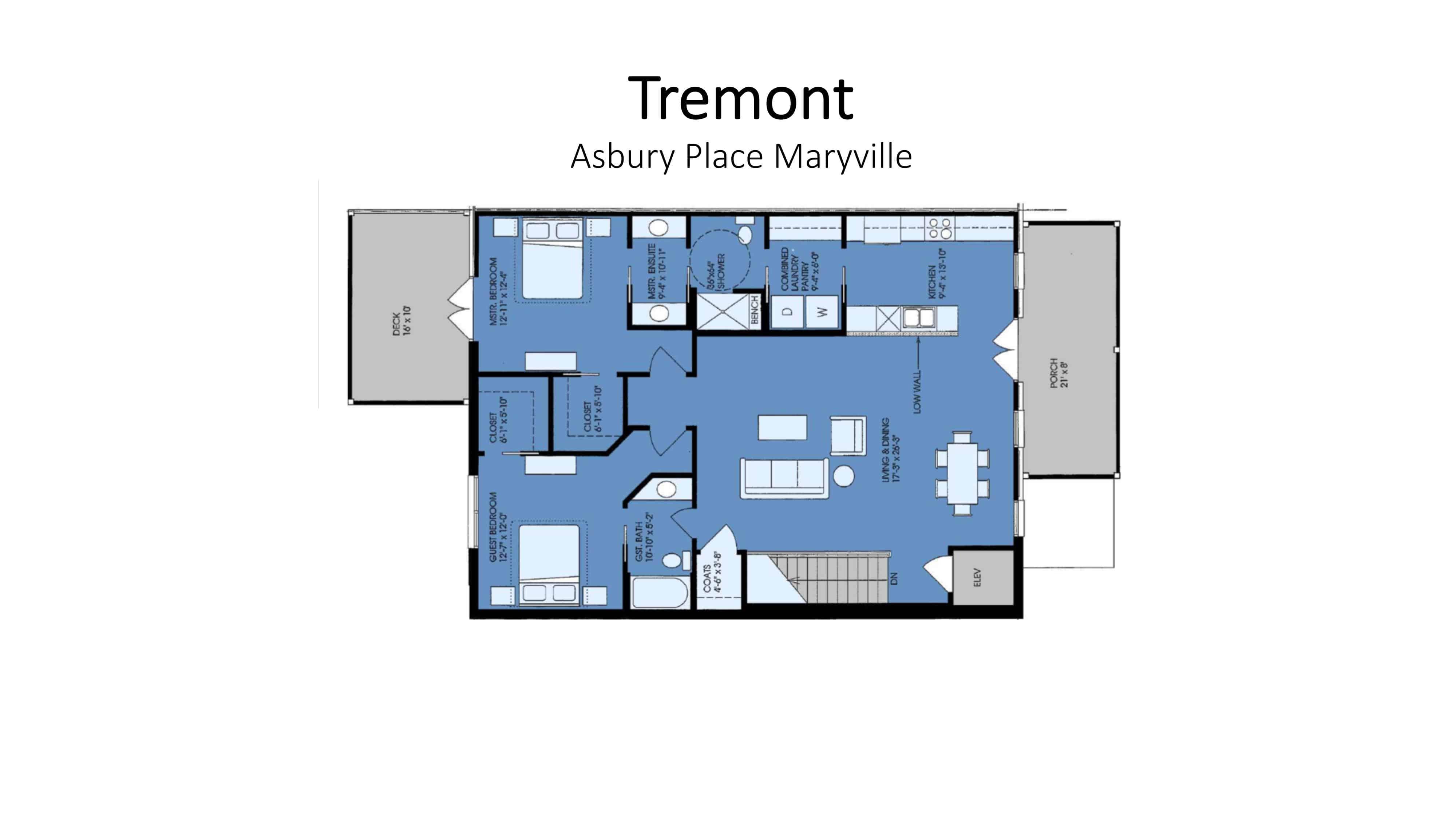 tremont floor plan