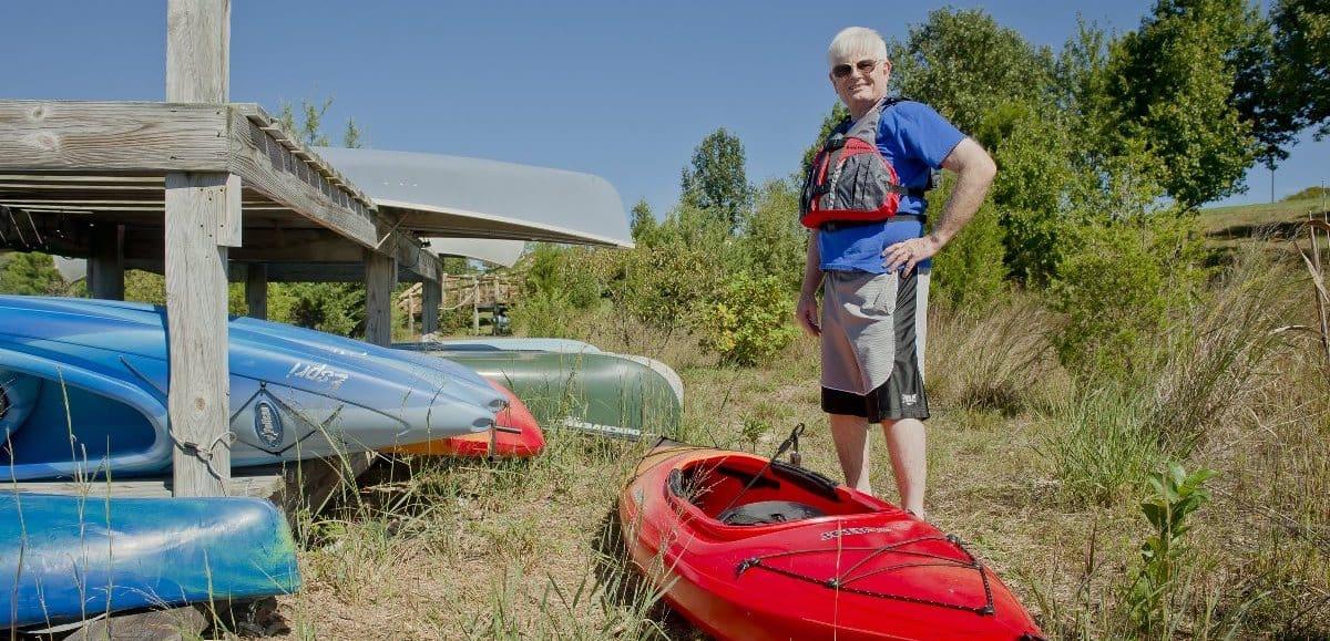 solomons resident kayaking