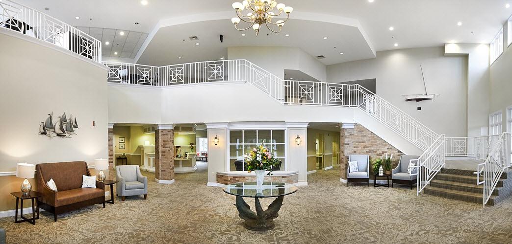 main lobby of asbury solomons