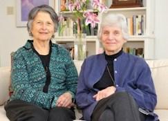 Margee Kooistra and Jane Wilshusen