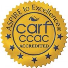 CARF & CCAC logo