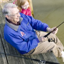 Hal Gaut fishing