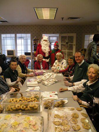 seniors baking