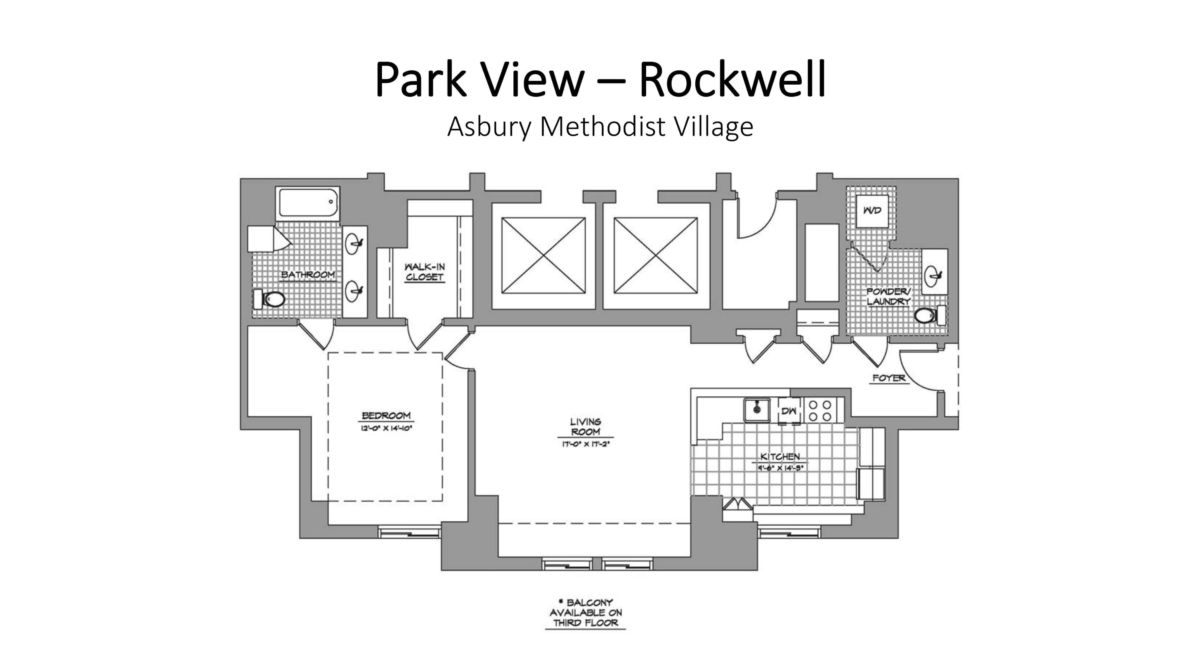 pv rockwell floor plan