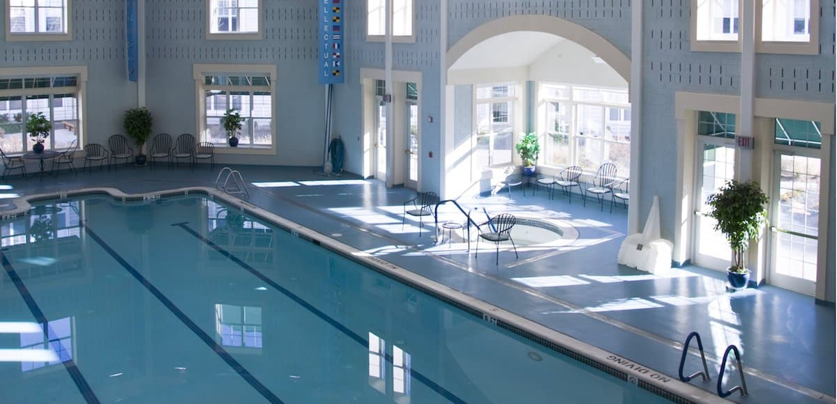 indoor pool at solomons