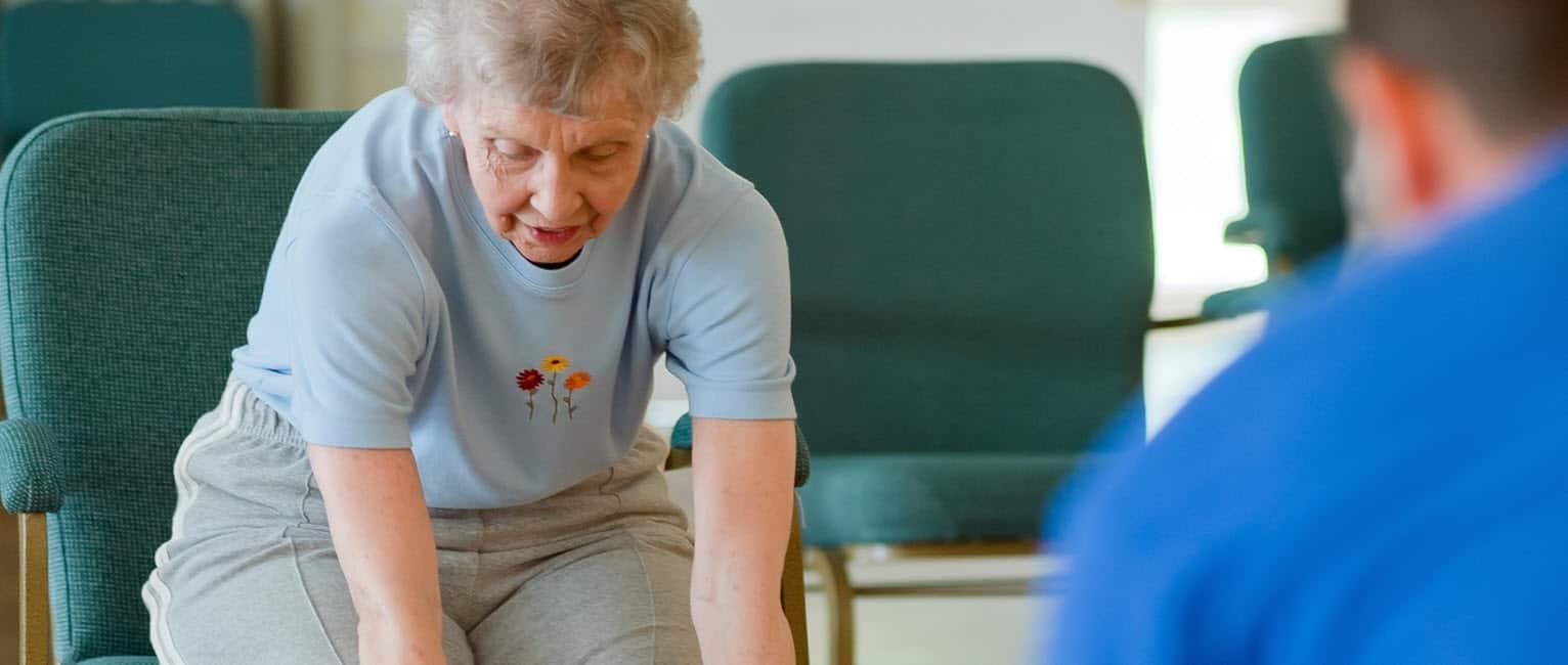 Senior chair fitness exercises