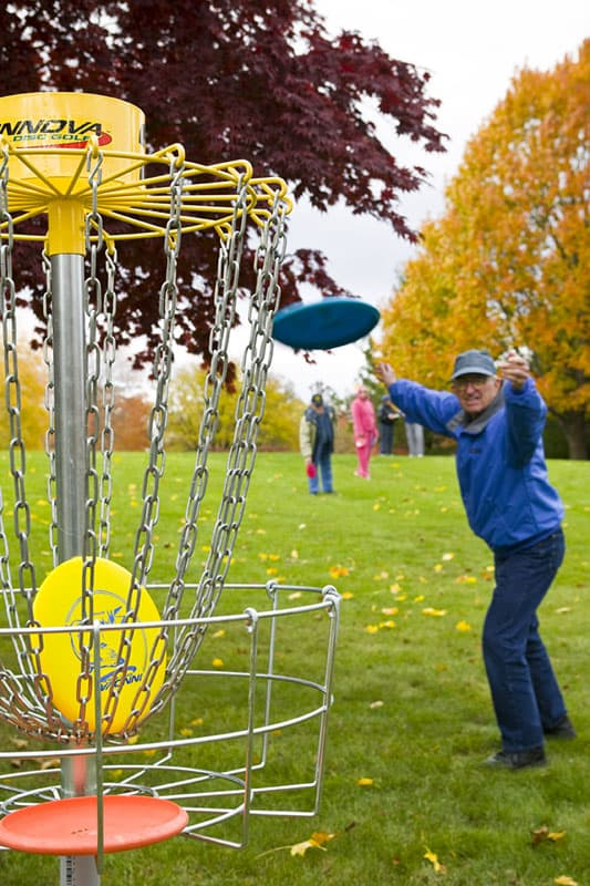 senior disc golf