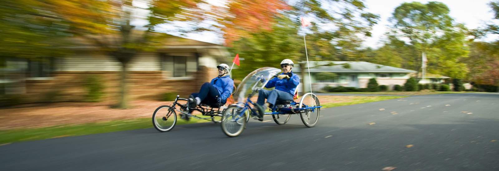 seniors cycling