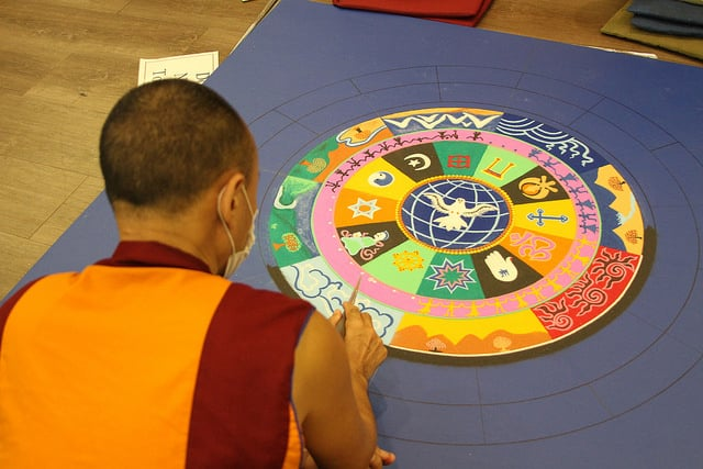 Tibetan Monks Bring Art & Peace to Asbury