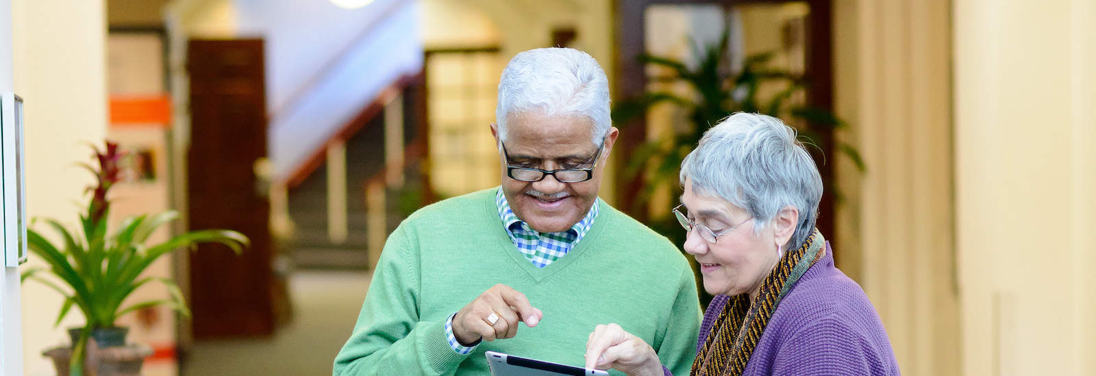residents and ipad