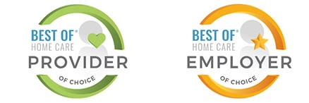 best of home care provider logo
