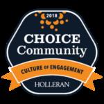 choice community, culture of engagement logo