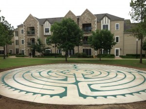 Inverness Village Labyrinth