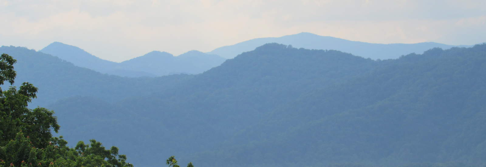 View of the Mountains from Asbury Place Kingsport