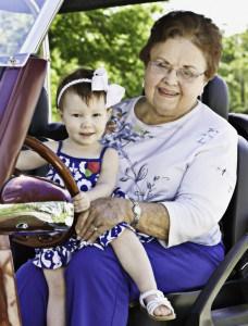 Lois Lee & Her Granddaughter