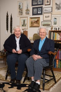 Col. Shirley Schelper and Dr. June Holmes