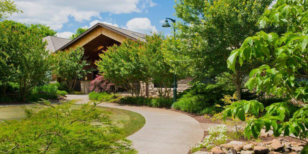 trails and walkways at maryville
