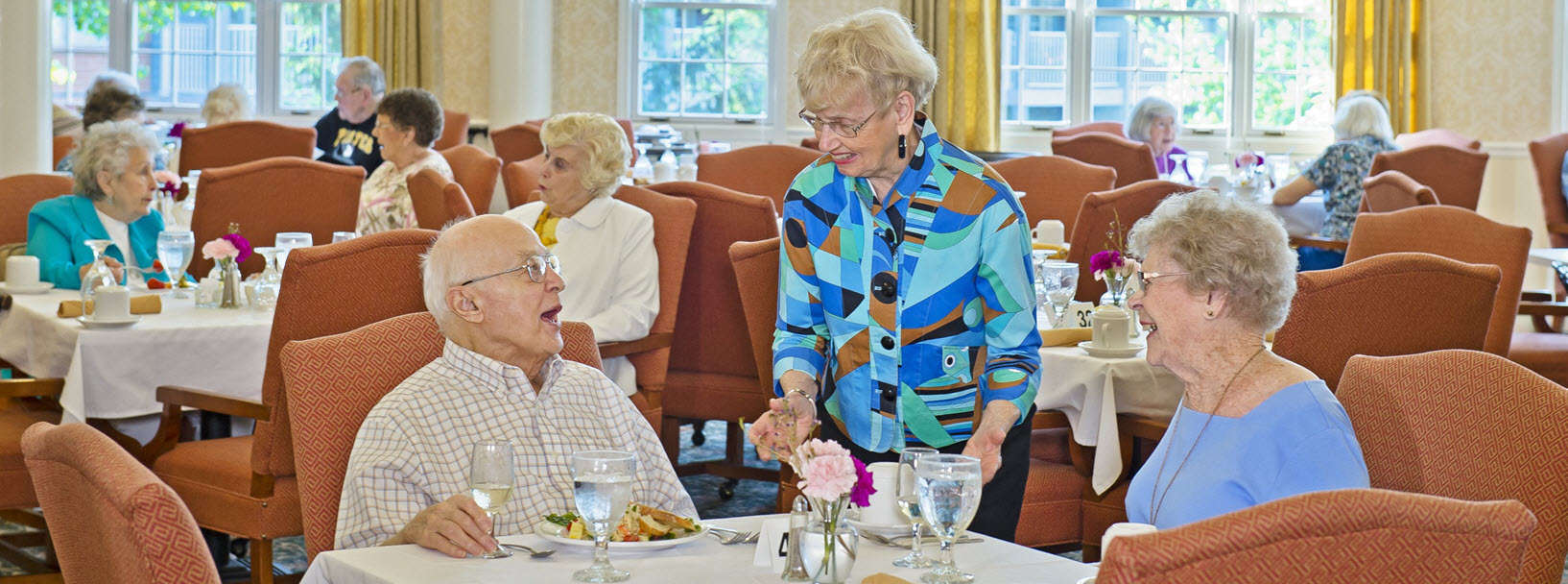 springhill senior living erie pa dining