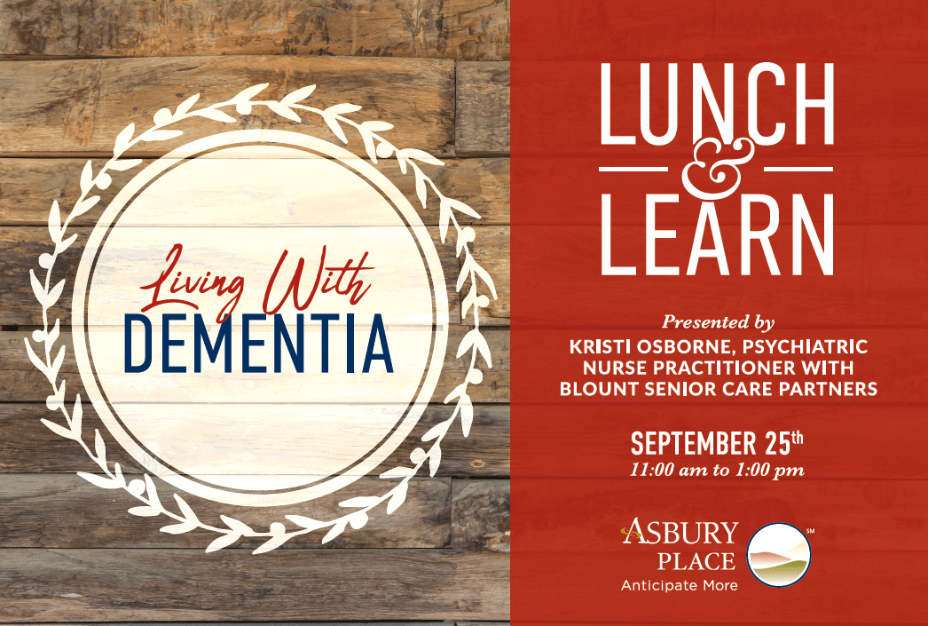 living with dementia lunch and learn