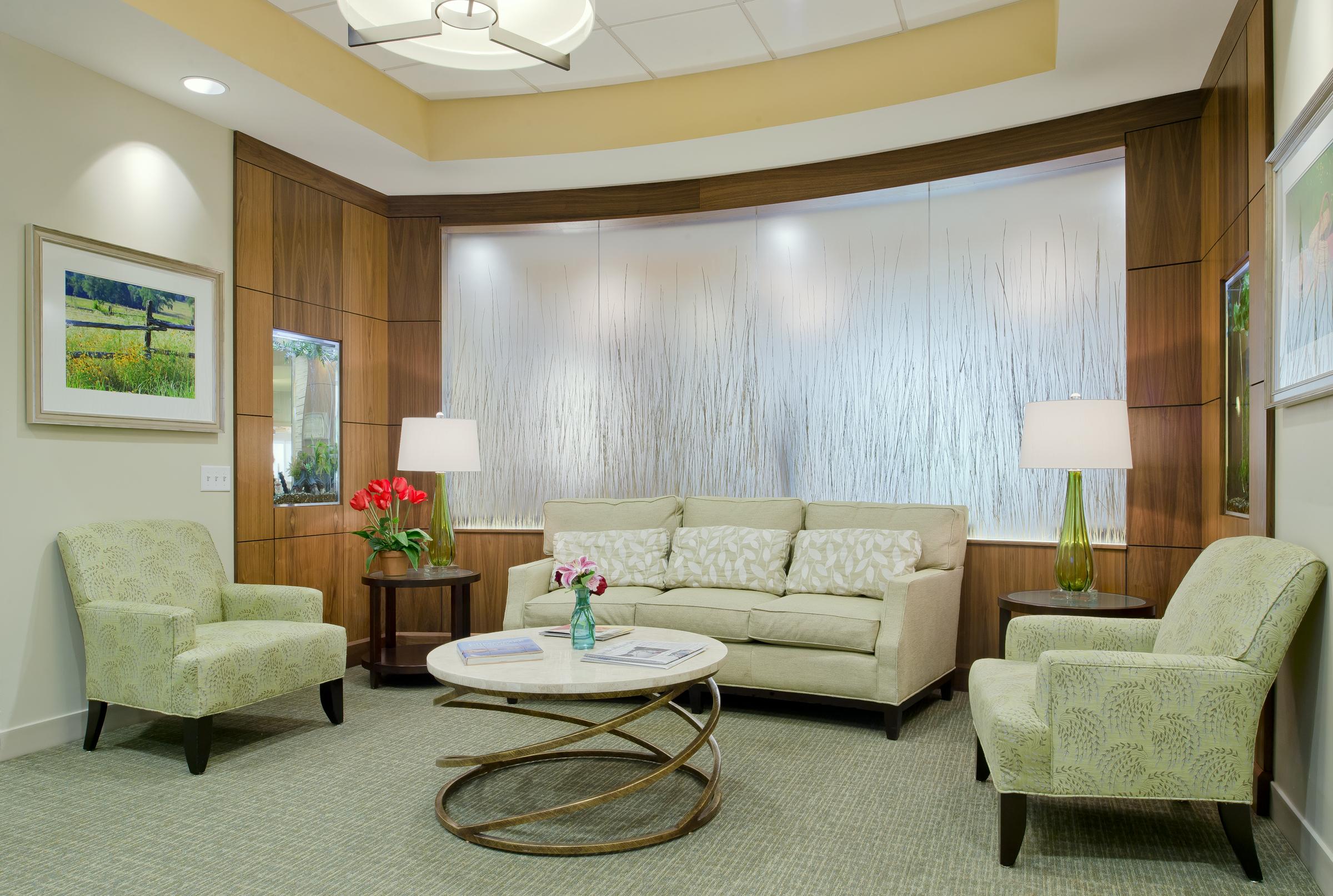Wilson Health Care Center waiting room