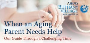 When aging parents needs help guide