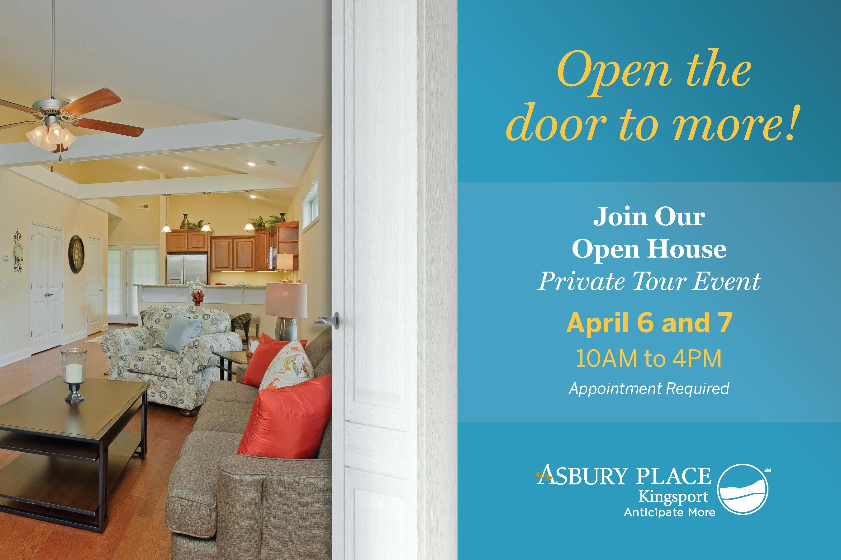 Open House April 6-7