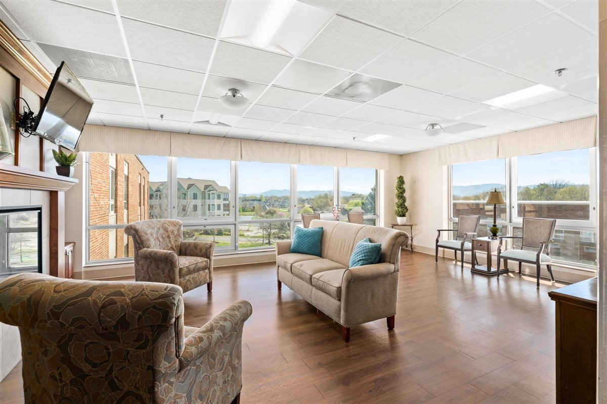 Asbury Place Maryville Health Care Center living room