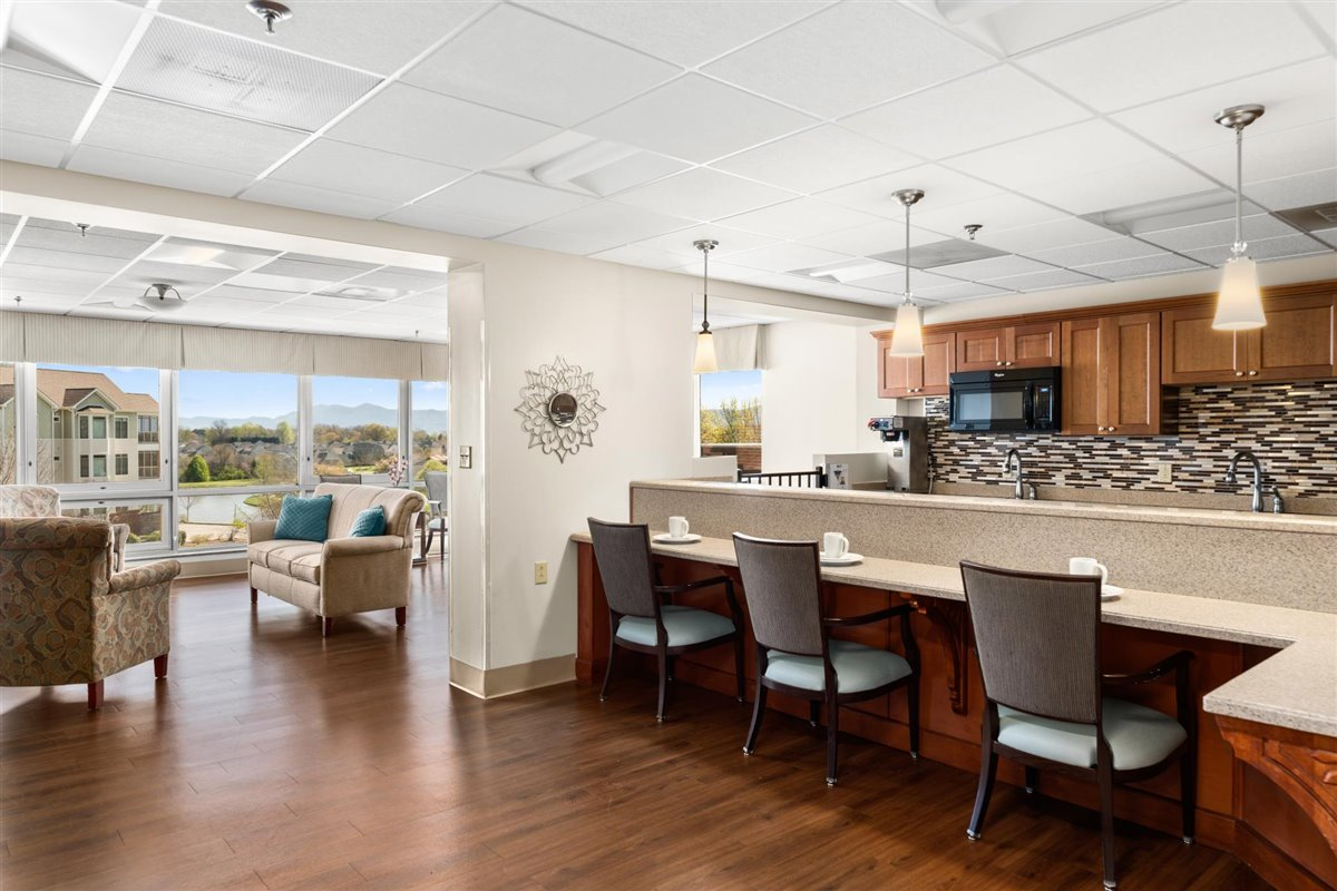 Asbury Place Maryville skilled nursing cafe in Tennessee