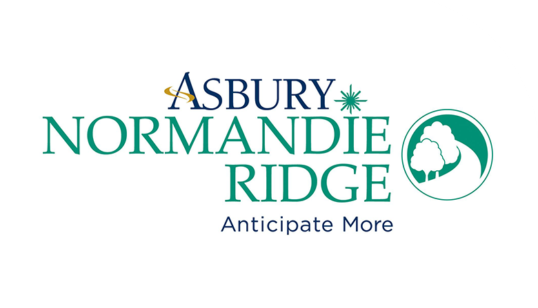 Asbury Normandie Ridge senior living community logo