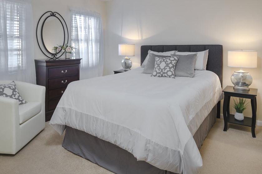 normandie ridge cottage bedroom