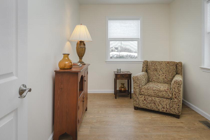 senior apartment with den at Asbury RiverWoods