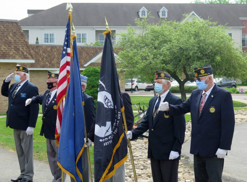 World War II Veteran Celebrates 102nd Birthday at RiverWoods