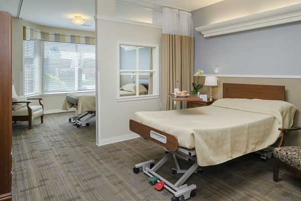 shared suite at riverwoods rehabilitation center