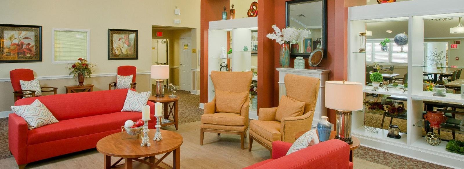 Asbury Kingsport Assisted Living Main Lobby